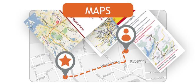 locr maps – personalisierte Karten