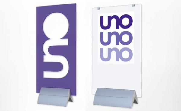 UNO Designstandfuss