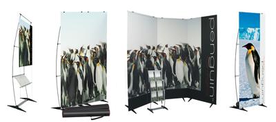 penguin: Das multifunktionale Displaysystem für die flexible Präsentation