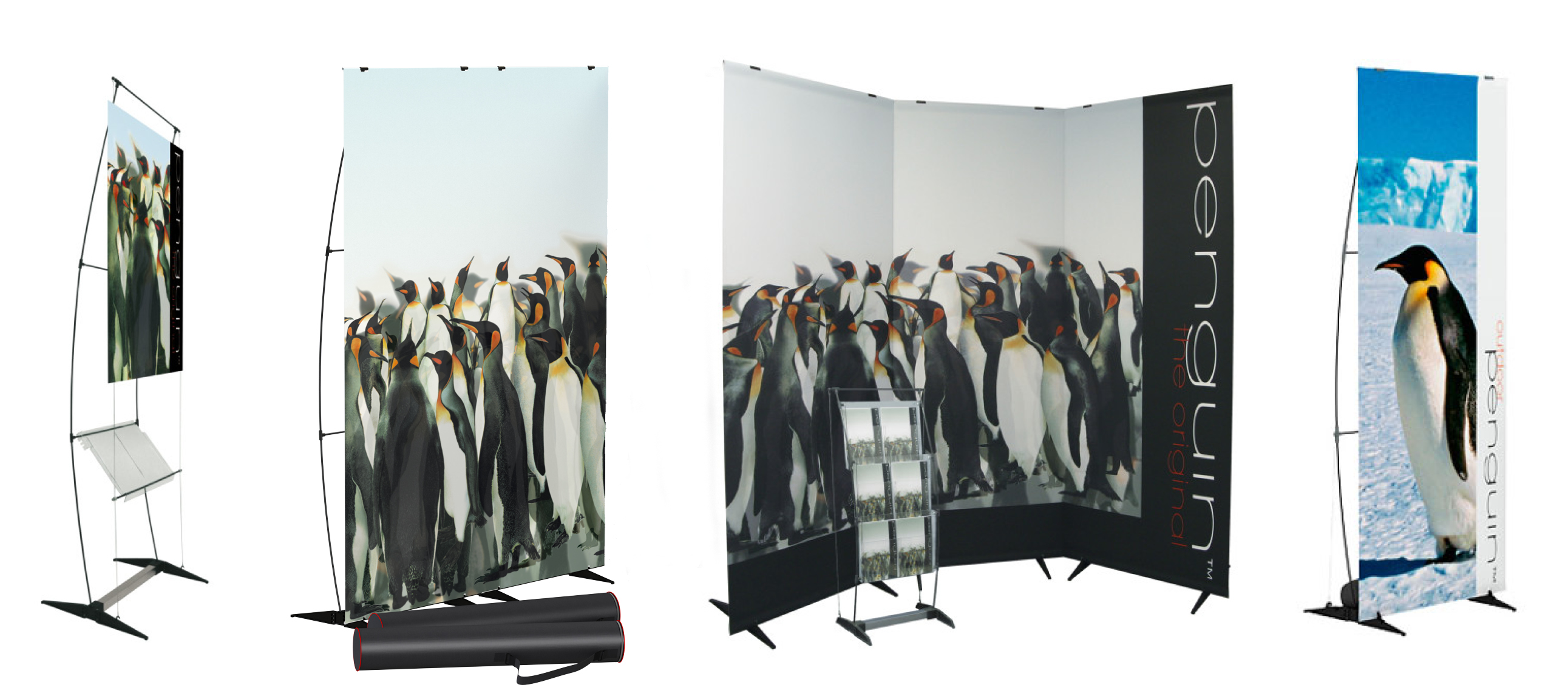 Read more about the article penguin: Das multifunktionale Displaysystem für die flexible Präsentation