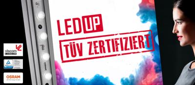 LEDUP ist jetzt TÜV zertifiziert