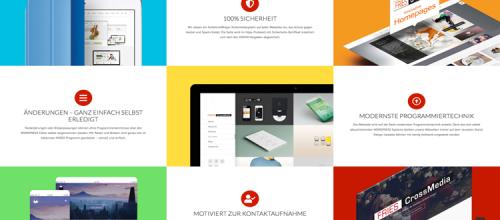 Die WordPress Unternehmenswebseite