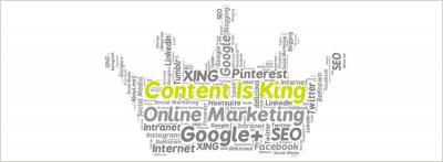 Content ist die Basis für erfolgreiches Online-Marketing